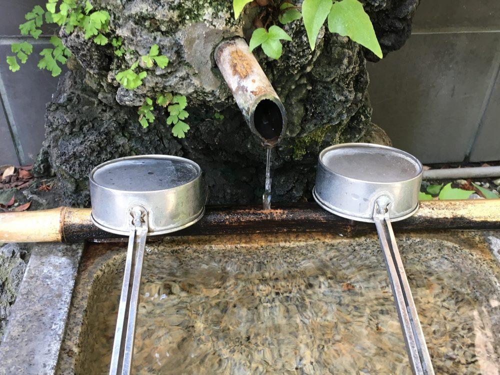 末廣神社手水鉢