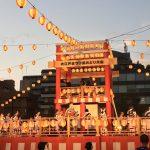 生歌生演奏で迫力満点、大江戸まつり盆踊り大会