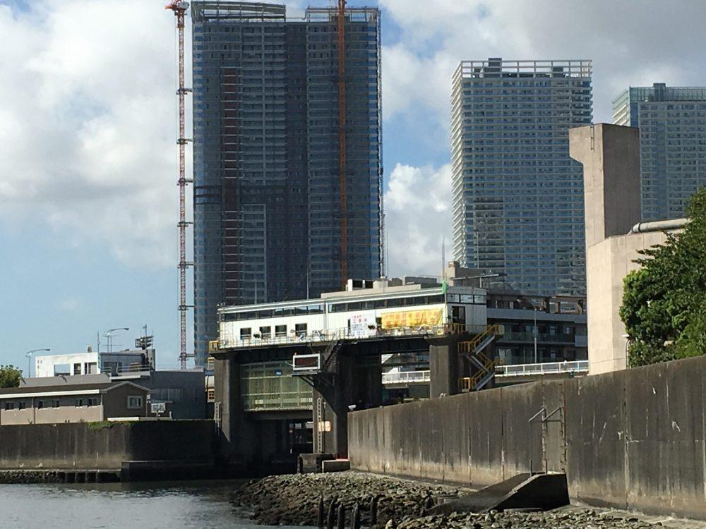 石川島公園から見える水門1
