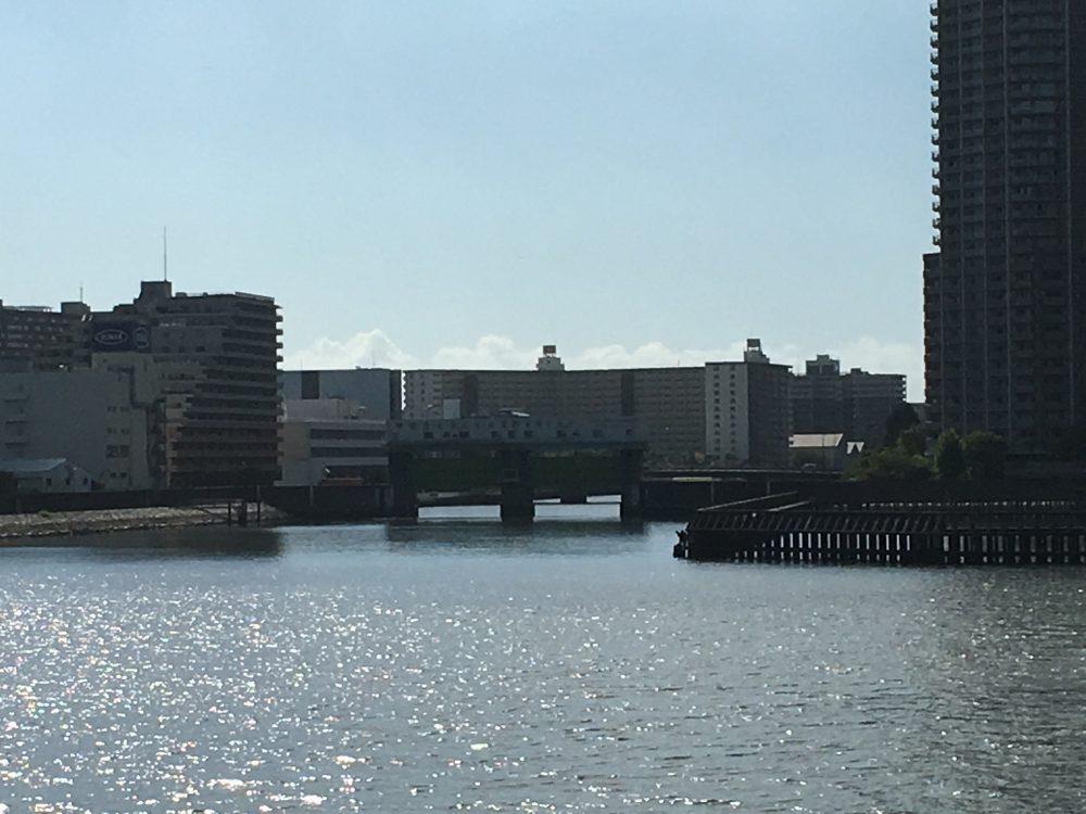 石川島公園から見える水門2