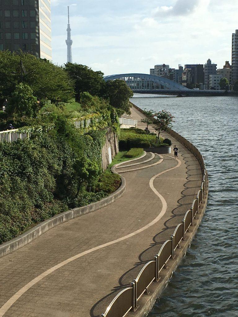 隅田川テラス永代橋2