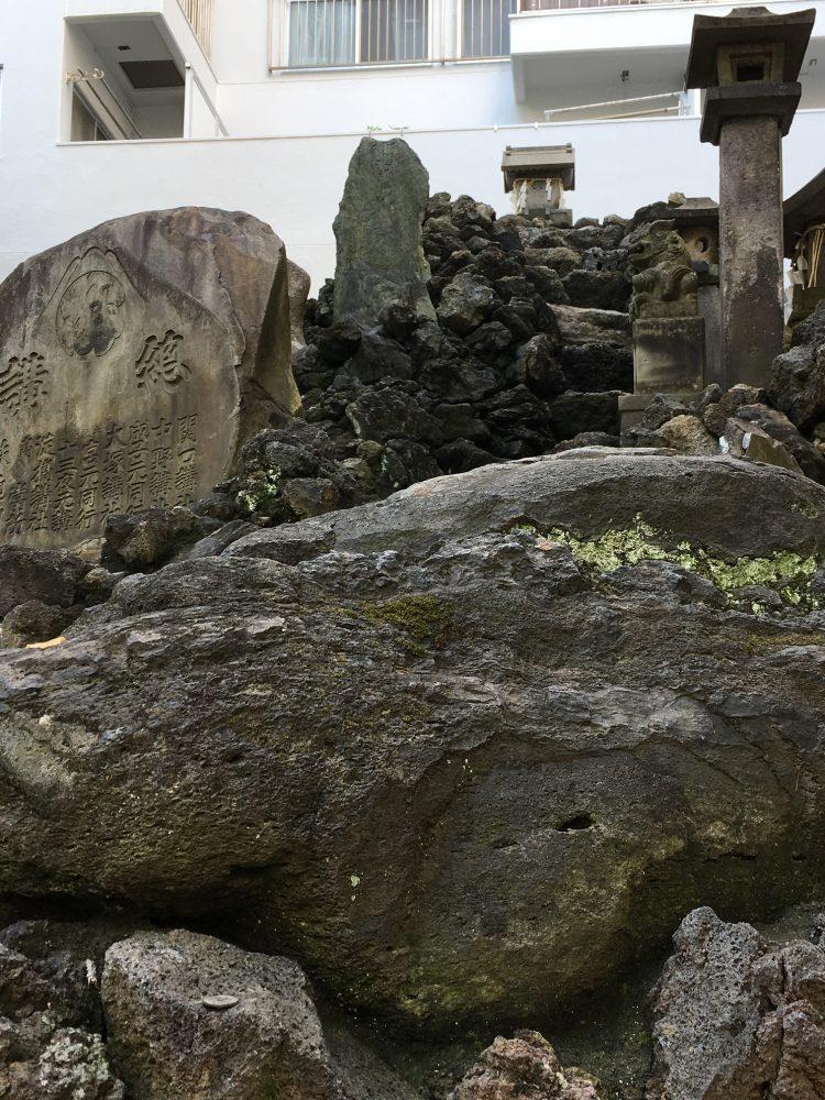 富士塚巨石