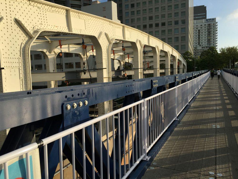 豊海橋仮橋