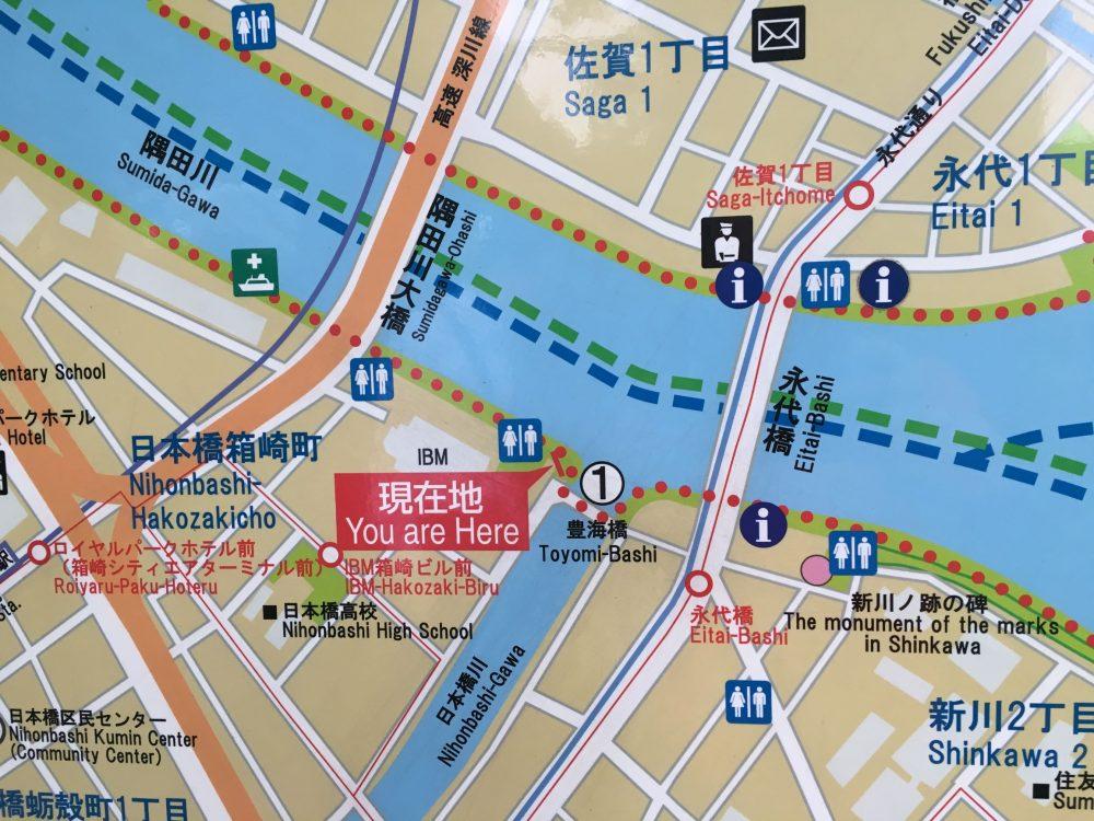 豊海橋地図