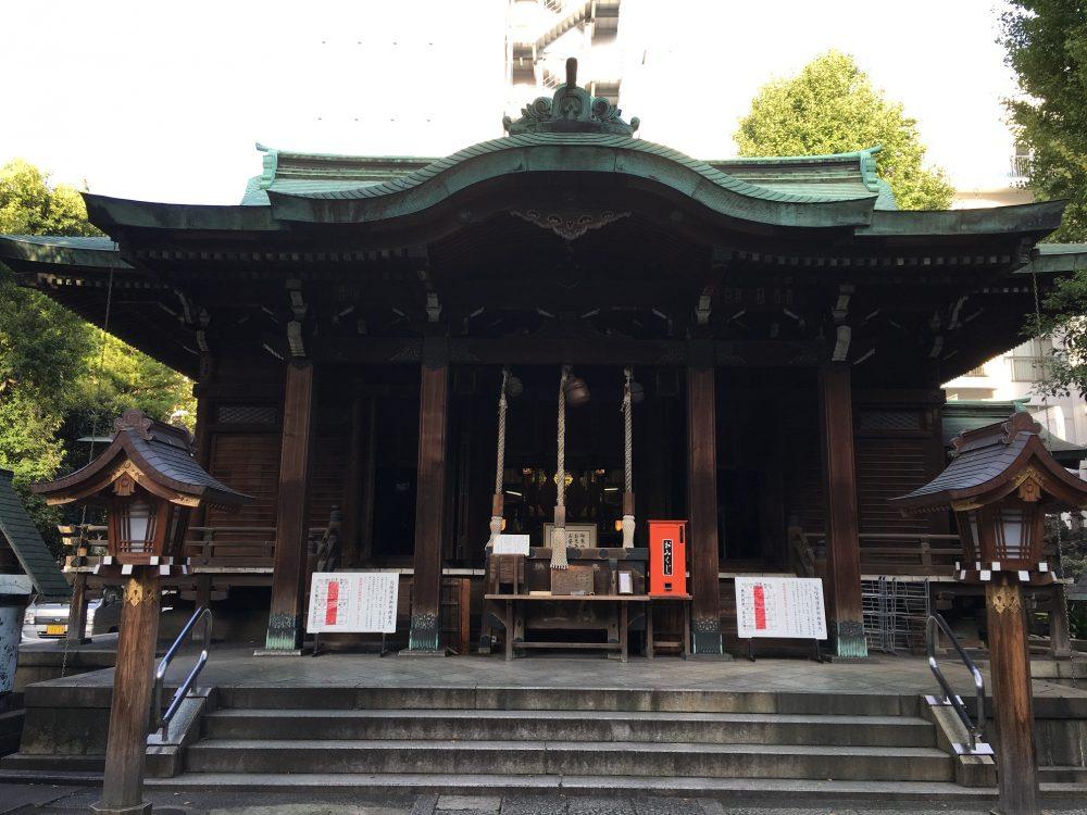 鉄砲洲稲荷社殿
