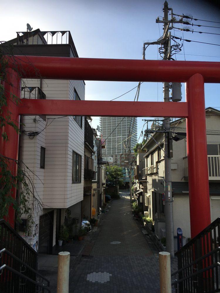 住吉神社赤い鳥居