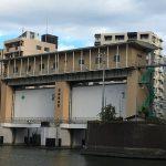 【隅田川の水門巡り】亀島川水門