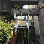 日本橋七福神のひとつ、末廣神社へお参り