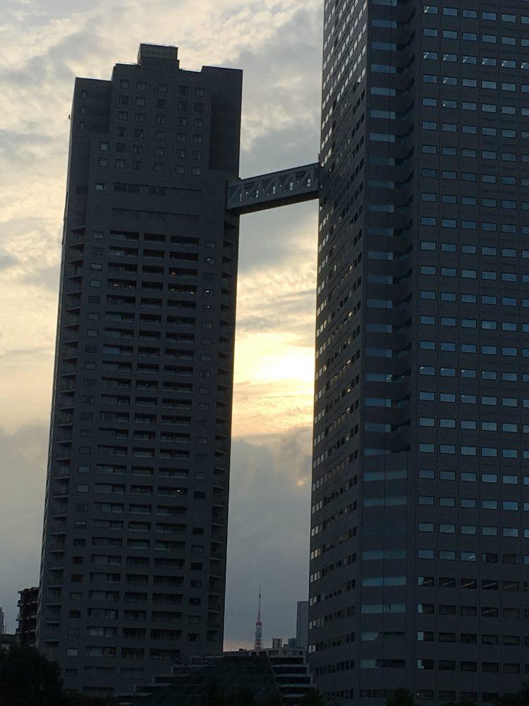 佃大橋から東京タワー