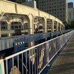 昭和初期から都市景観にこだわった豊海橋、ただいま工事中