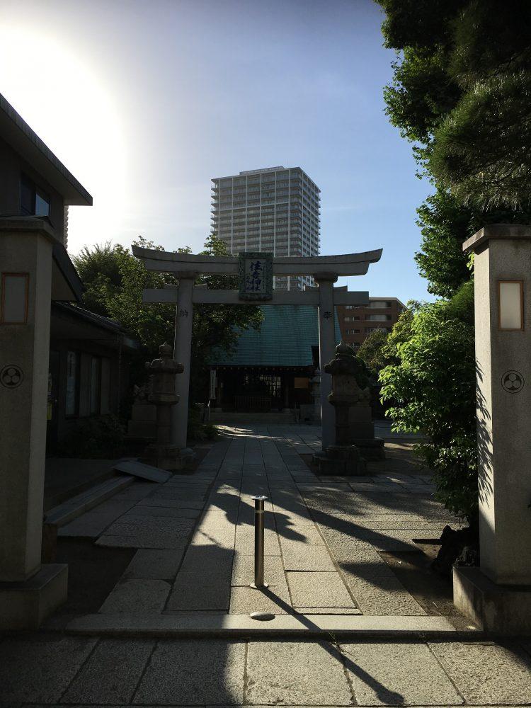 住吉神社石の鳥居